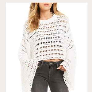 Free People Women's Caught Up Crochet Jumper Top